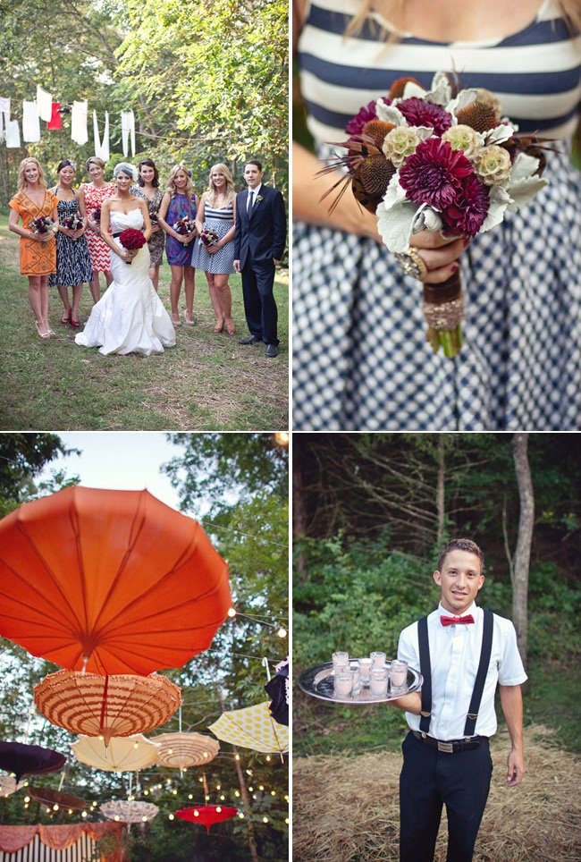 This circus themed wedding is AMAZING and the parasols LOVE