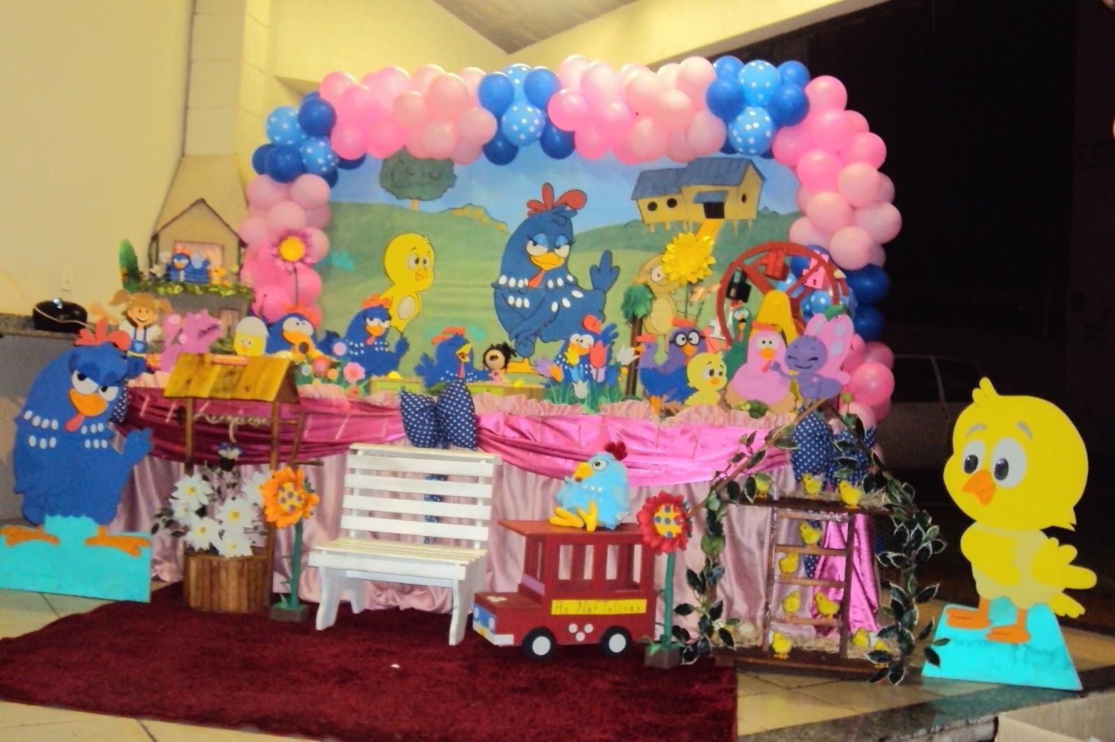 decoracao festa galinha pintadinha rosa: Moreninha III Tel:(67)3393-2873: Decoração Galinha Pintadinha Rosa
