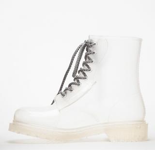 Clear Rain Boots