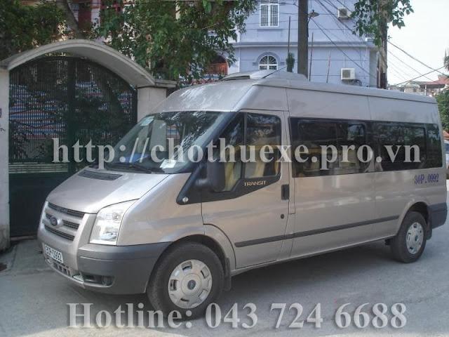 Cho thuê xe 16 chỗ đi Chùa Hương tại Hà Nội