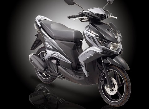 Yamaha GT 125 Eagle Eye Elegant Black