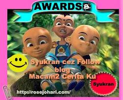 AwardS DaRiPaDa BLoGGERS