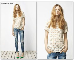 ENCAJE MS JEANS ROTOS. LACE PLUS DENIM