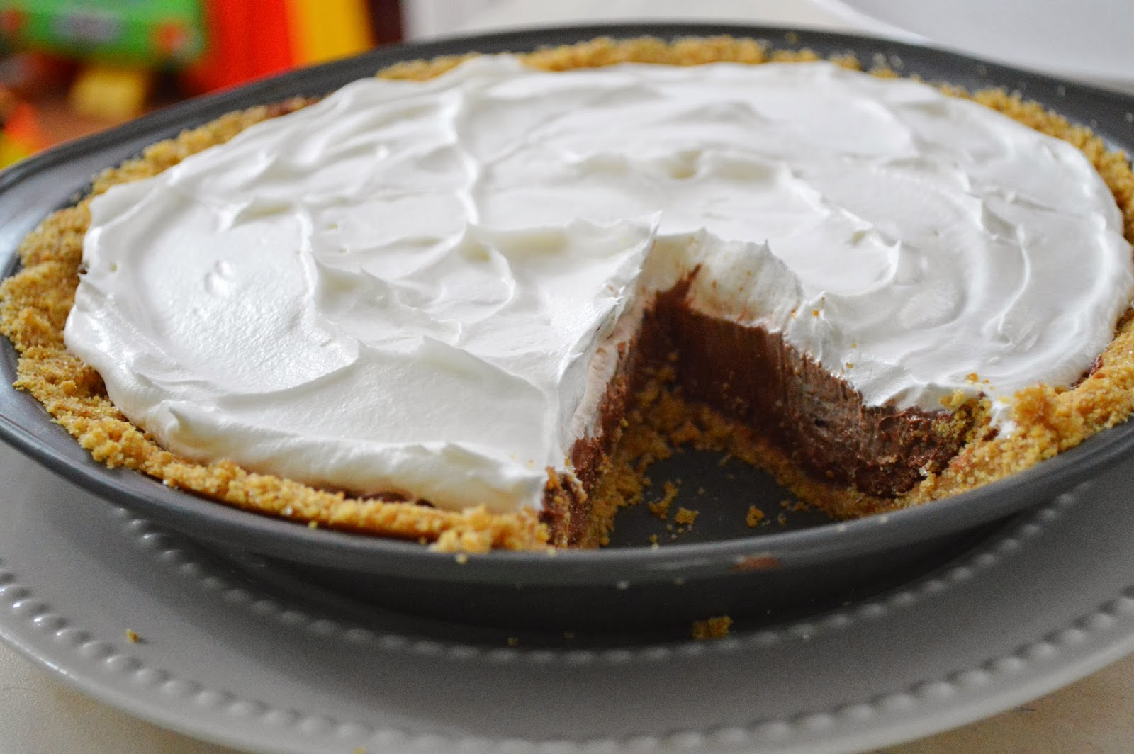The Art of Comfort Baking: Double Layer Chocolate Cream Pie