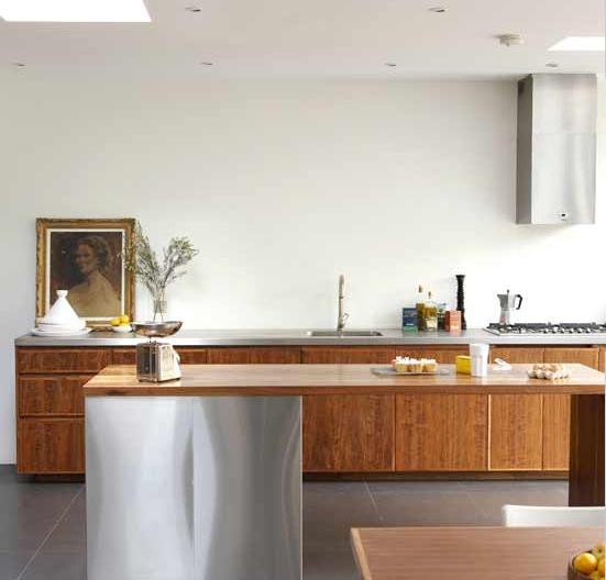 blad cocinas sin muebles sobre mesada