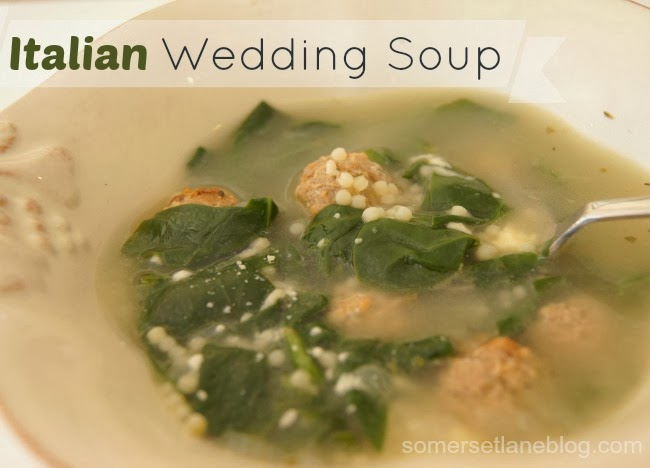 recipe for Italian wedding soup - similar to East Side Mario's