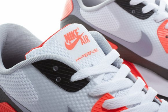 te   air max 90 1990 nike air max 90 red white black nike air max 90    Nike Air Max 90 Hyperfuse Infrared Crooked Tongues