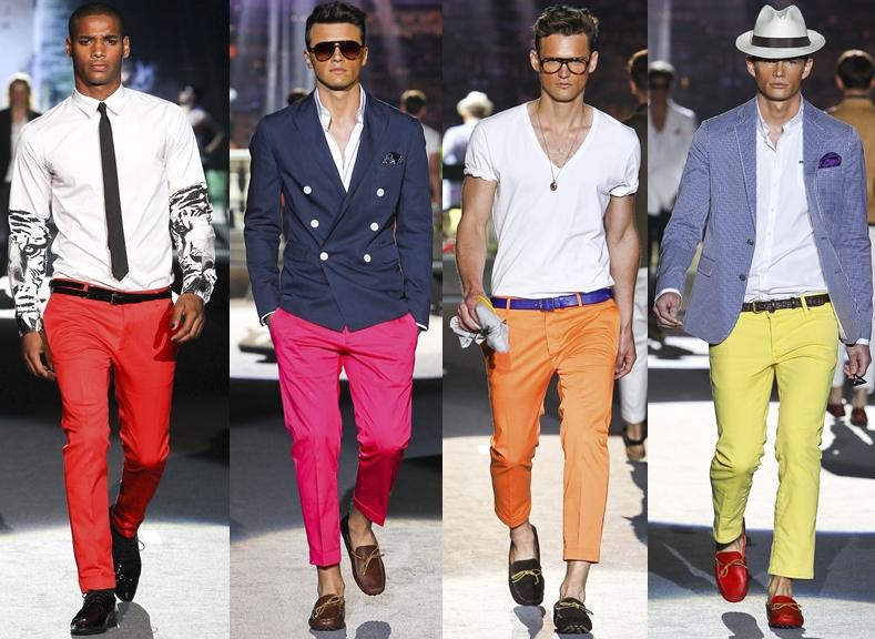 Men in colored pants! | ATOM WILLIS