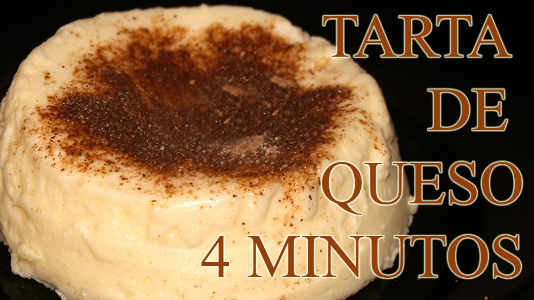 tarta de queso 4 minutos