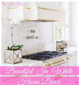 Decor Days: Beautiful In White Summer Home Decor Inspiration.