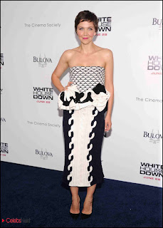 Maggie Gyllenhaal Pictures at White House Down NYC Premiere 0003