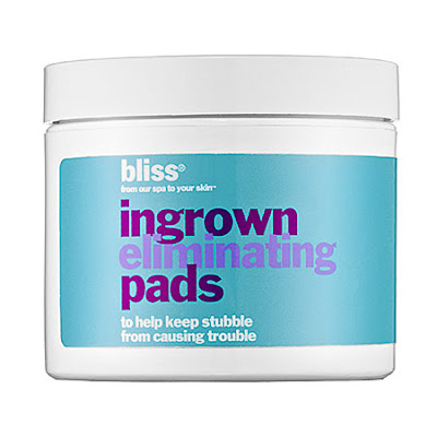 Bliss, Bliss Ingrown Hair Eliminating Pads, ingrown hairs