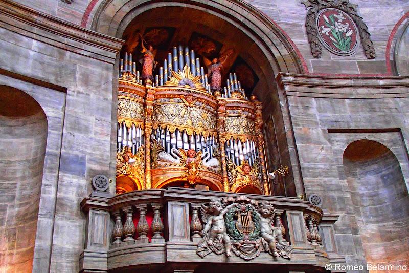 Marmorkirken Pipe Organ Copenhagen Denmark