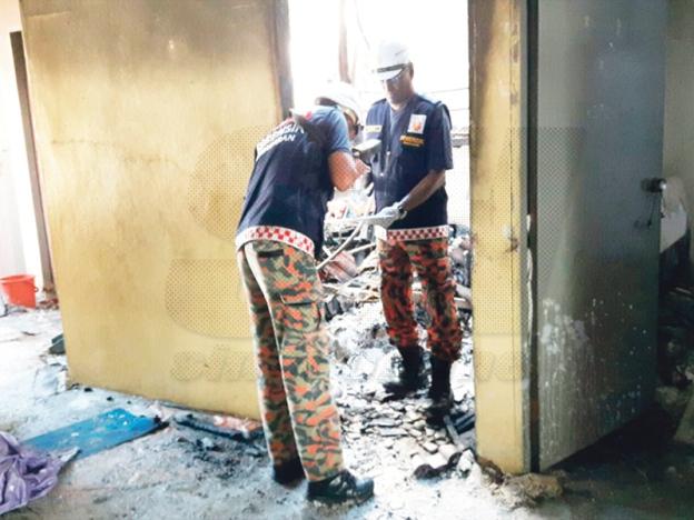 Kipas Angin Meletup Punca 3 Rumah Terbakar