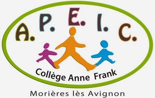 L' A.P.E.I.C., L' Association des Parents d' Elèves Indépendants du Collège Anne Frank