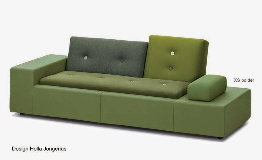 Sofá de diseño holandés estilo Contemporáneo de gran medida