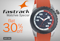 Fastrack Watches 30% OFF at Shopclues.com