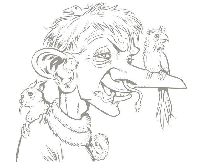Segni della fumettista curiosa agosto 2011 for Disegni paesaggi semplici