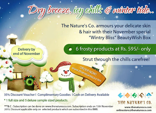 The Ultimate festive beauty buys this Diwali - From The Nature's Co.