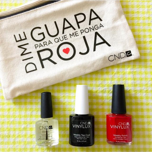 7 días de uñas perfectas con VINYLUX de CND (Neceser Verano)  Manicura y Pedicura