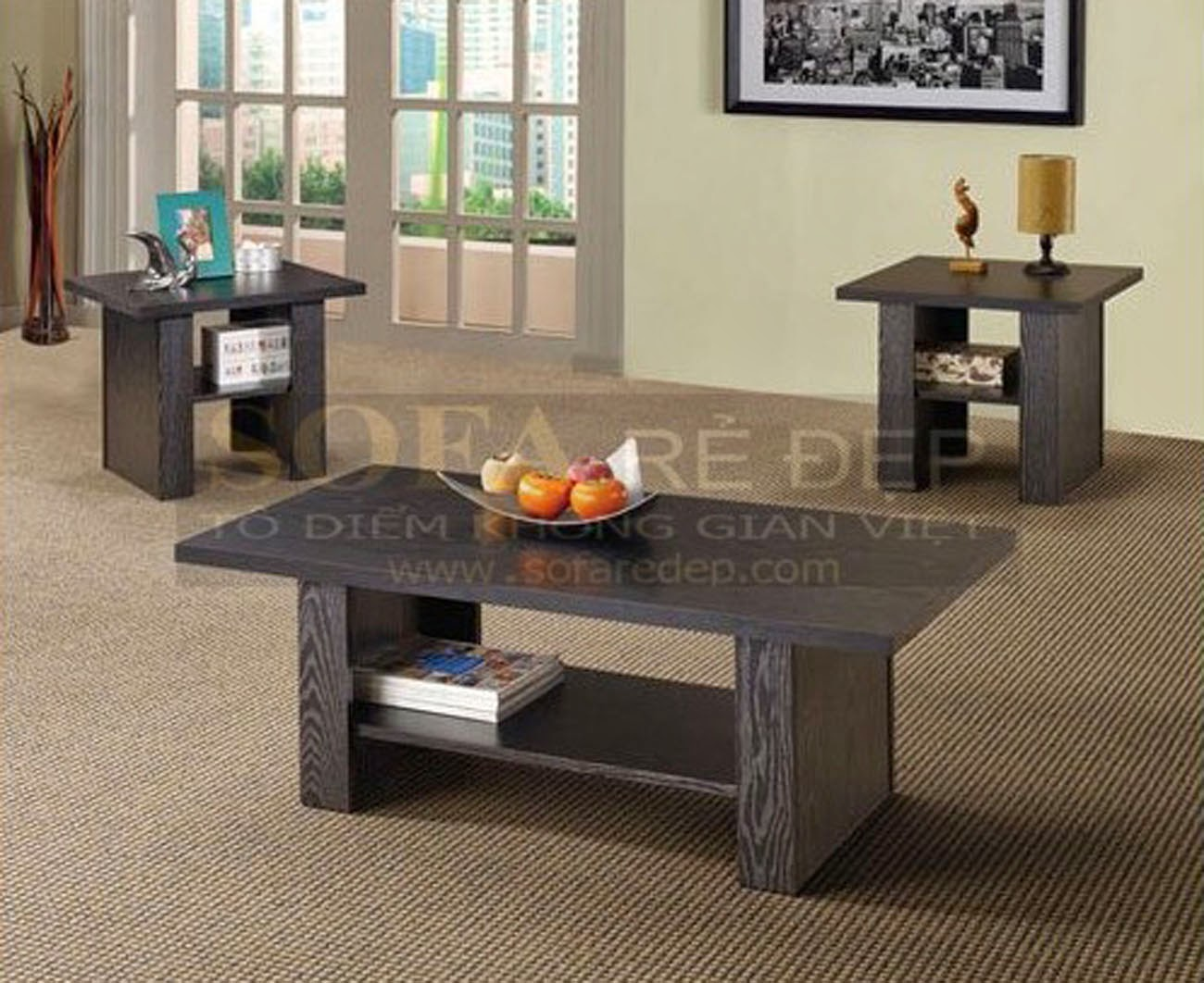 Bàn sofa gỗ BS069