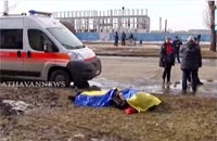 Blast in Kharkiv kills at least two on day of commemorative rallies