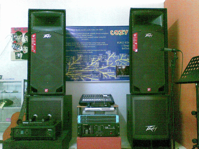 Cozy Music Studio Batam Square Centre