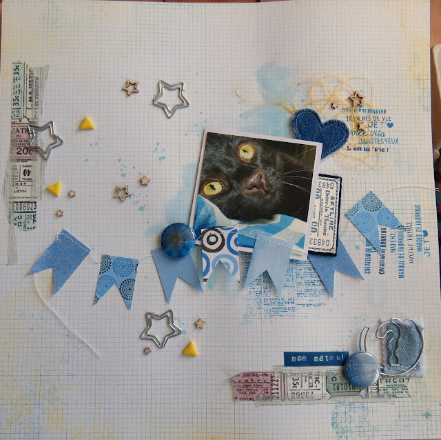 scrapbooking. mix média