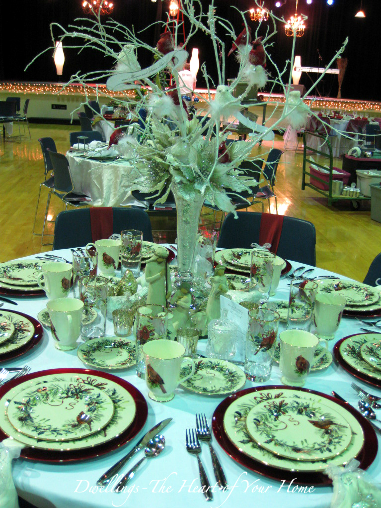 CHRISTMAS TEA FESTIVAL OF TABLES | DWELLINGS-The Heart of Your Home
