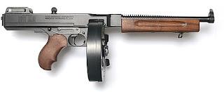 thompson submachine gun pictures