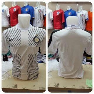 gambar jersey training inter milan warna putih musim depan 2014/2015 dan tahun depan 2015/2016
