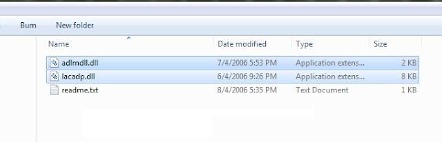 Các bạn vào folder crac.k, copy 2 file adlmdll.dll và lacadp.dll vào folder mà các bạn đã cài Autocad