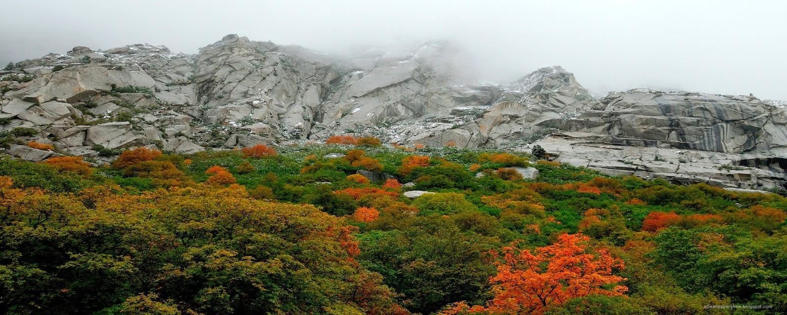 Geni do a manzara resimleri 300 impressive dual screen landscapes