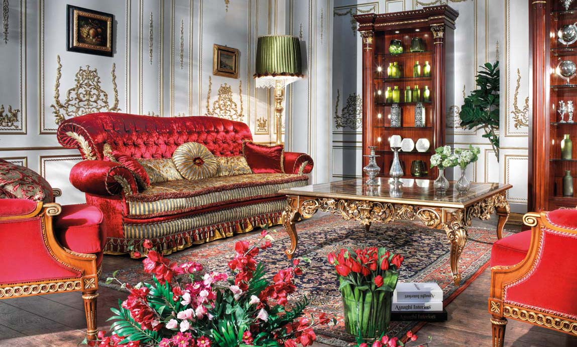 Antique French Furniture European Style Classic Living Room