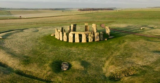 Stonehenge Mysterious Structures