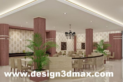 Desain interior restaurant bar cofeeshop hotel room