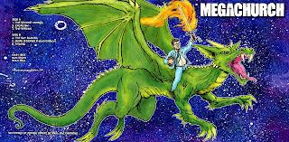 megachurch, music, dragon, fire sword