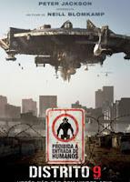 Filme Poster Distrito 9
