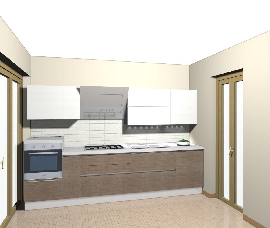 DOMUS ARREDI: Una cucina lineare... ma con personalità .. Domus ...