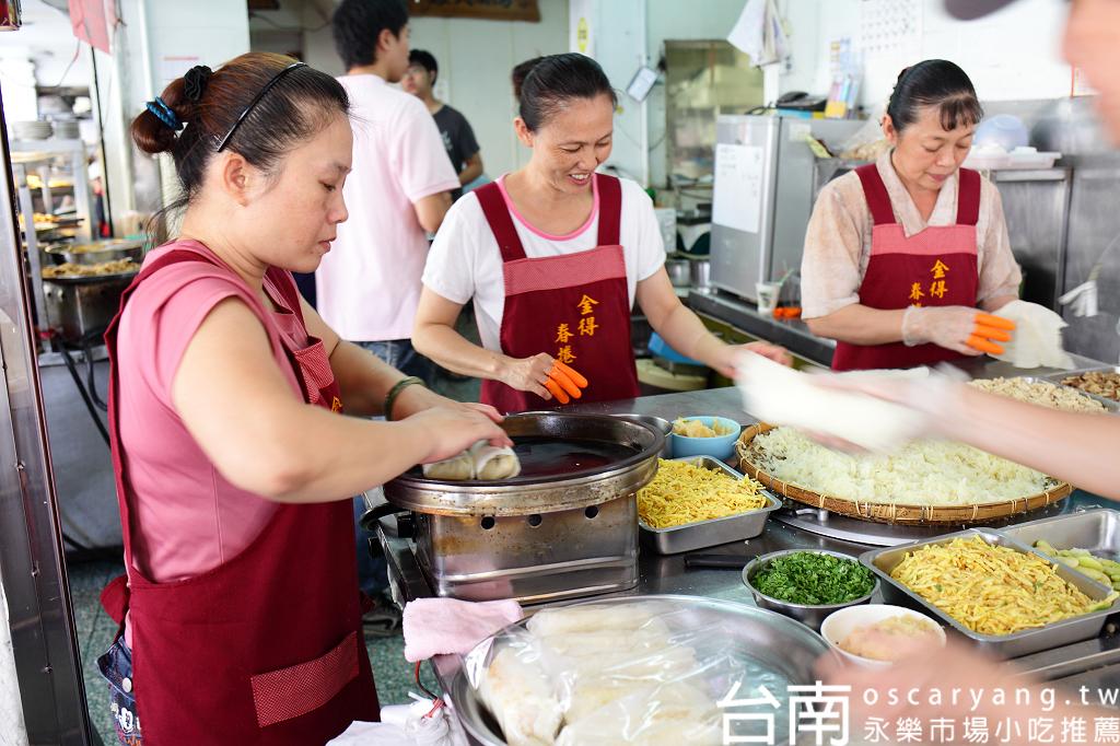 台南永樂市場小吃推薦 富聖號碗粿 金得春捲 阿松割包(國華街&正興街),EYE Taiwan X Oscar Yang