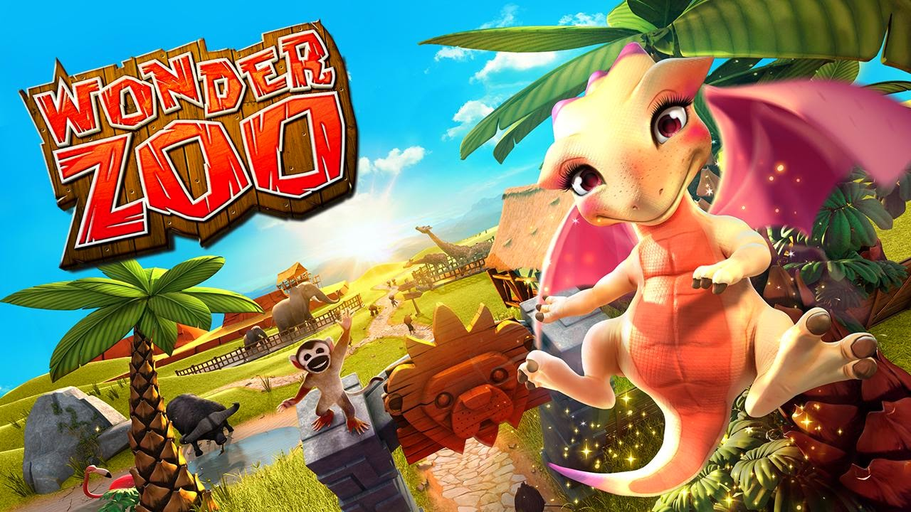 Wonder Zoo Animal rescue MOD APK+DATA (Unlimited Gold/Peanuts) v1.6.1