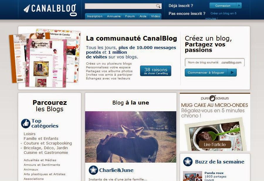 Créer un blog gratuit sans compétences informatiques avec Canalblog.