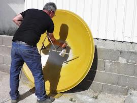 reparação de parabolica usada
