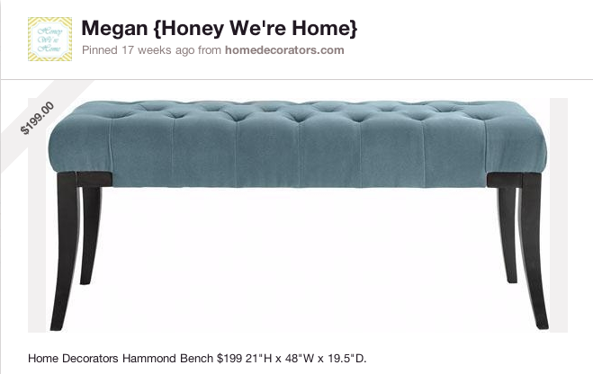 End Of The Bed Bench Honey We 39 Re Home