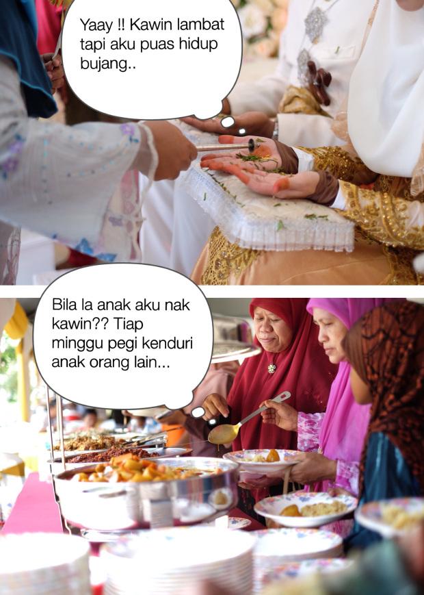 Melayu kahwin lambat ?