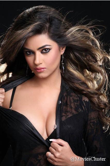 Meera Chopra in black