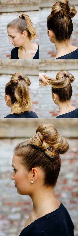 Coiffure Facile Et Rapide Pour Cheveux Mi Long