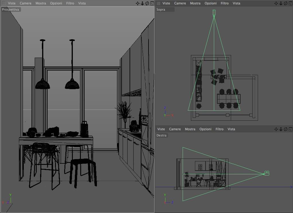Migliorare le inquadrature in ambienti piccoli sfruttando for Piccoli piani di studio