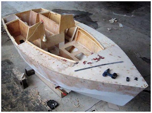 Яхты катера лодки своими руками 139