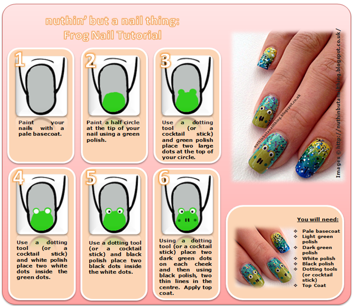 Frog Nail Art: 1000+ Images About Best & Easy D.I.Y Nail Tutorials On